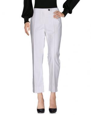 Повседневные брюки FONTANA COUTURE. Цвет: белый