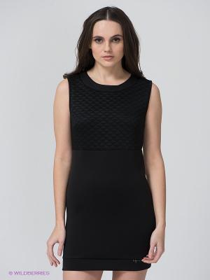 Платье BSB. Цвет: черный
