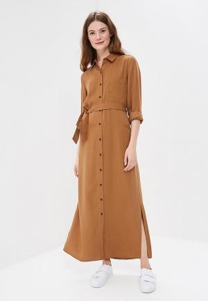 Платье Mango. Цвет: коричневый