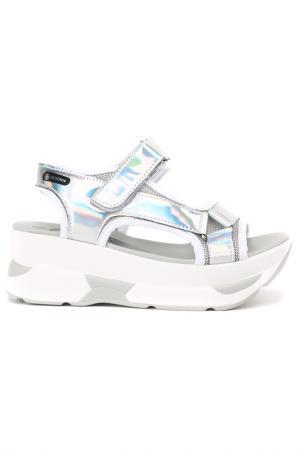 Туфли летние BEGONIA. Цвет: белые (big)