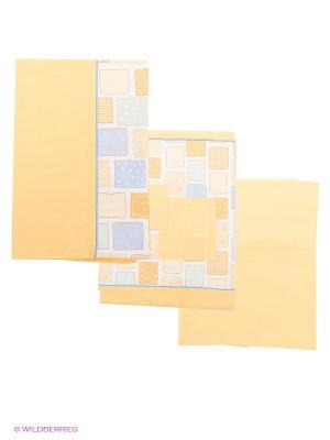 Комплект постельного белья Bebe Lazzi. Цвет: желтый