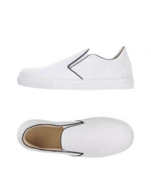Низкие кеды и кроссовки MR.HARE. Цвет: белый