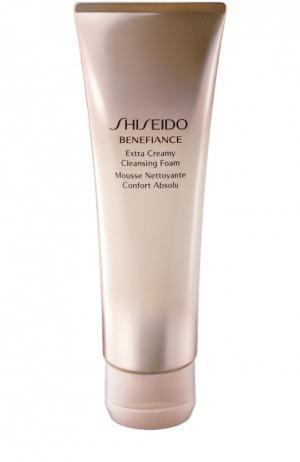 Очищающая пенка с кремовой текстурой Benefiance Shiseido. Цвет: бесцветный