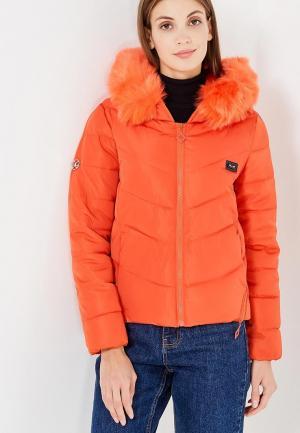 Куртка Mazal. Цвет: оранжевый