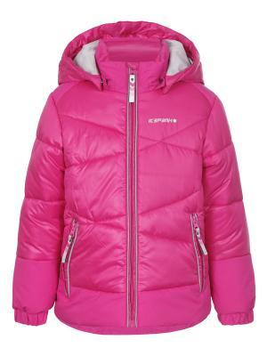 Куртка Icepeak. Цвет: фуксия