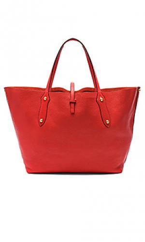 Большая сумка-тоут isabella Annabel Ingall. Цвет: красный