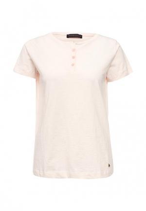 Футболка Trussardi Jeans. Цвет: розовый