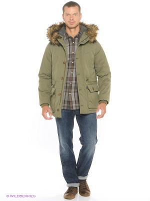 Куртка MUSTANG. Цвет: оливковый