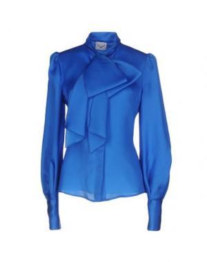 Pубашка LEITMOTIV. Цвет: ярко-синий