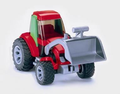 Трактор Roadmax Bruder. Цвет: красный, зеленый