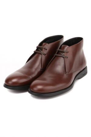 Ботинки Sergio Rossi. Цвет: коричневый