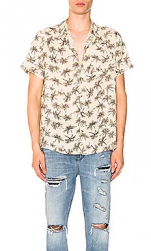 Рубашка bon ROLLAS ROLLA'S. Цвет: кремовый