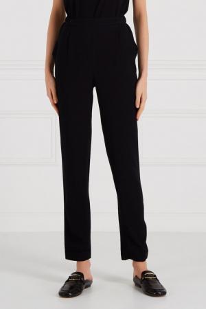 Черные брюки с карманами Cyrille Gassiline BASE. Цвет: черный