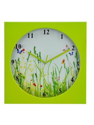 Часы настольные ArteNuevo. Цвет: салатовый