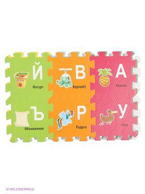 Коврик-пазл Играем Вместе Мой маленький пони.. Цвет: красный, оранжевый, розовый, желтый, зеленый, салатовый, голубой