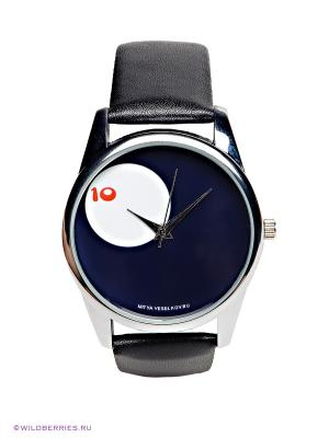 Часы Mitya Veselkov. Цвет: черный, темно-синий