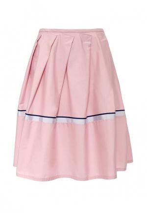 Юбка Jil Sander Navy. Цвет: розовый