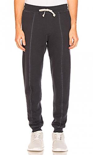 Спортивные брюки из флиса cabin adidas by wings + horns. Цвет: серый