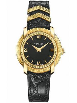 Часы Versace. Цвет: черный