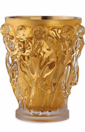 Ваза Bacchantes XXL с позолотой Lalique. Цвет: золотой