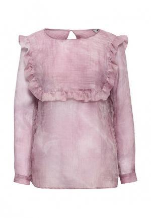 Блуза Atelier Revolver. Цвет: розовый