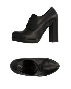 Обувь на шнурках ELIANA BUCCI. Цвет: черный