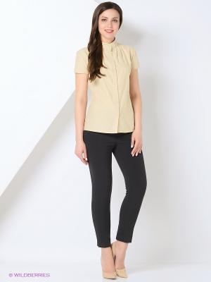 Рубашка BYGAKOFF. Цвет: светло-бежевый