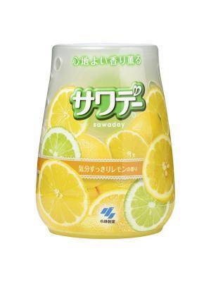 Освежитель воздуха для туалета Sawaday аромат лемонграсса, 140 г KOBAYASHI. Цвет: прозрачный