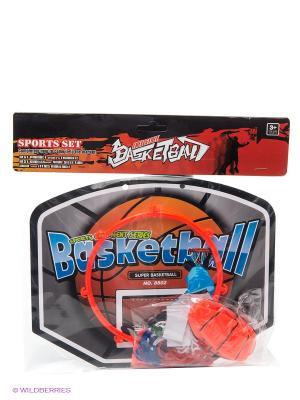 Набор для игры в баскетбол VELD-CO. Цвет: оранжевый, черный