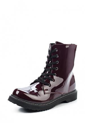 Ботинки Topway. Цвет: бордовый