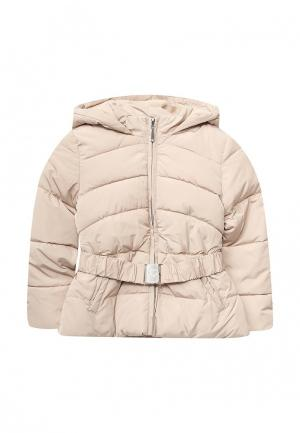 Куртка утепленная Blukids. Цвет: бежевый