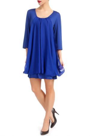 Платье LESARA. Цвет: синий