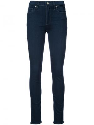 Hoxton high-rise jeans Paige. Цвет: синий