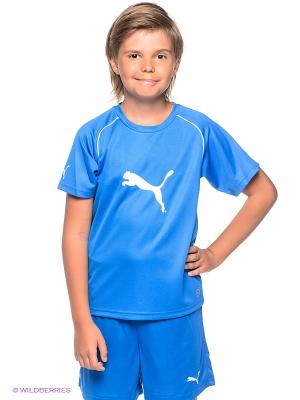 Футболка Ringer Jersey Puma. Цвет: синий