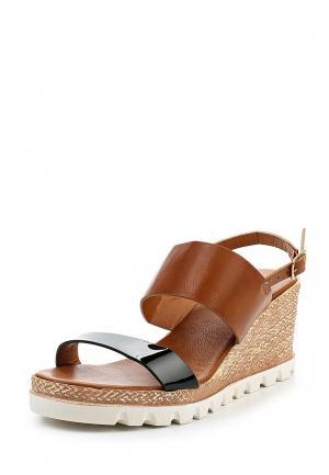 Босоножки Max Shoes. Цвет: черный