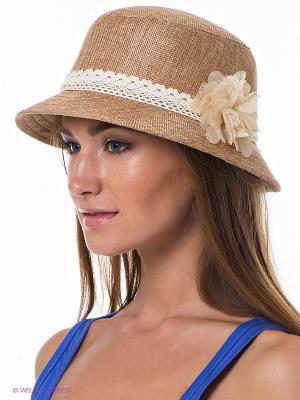 Шляпа Maxval. Цвет: темно-бежевый