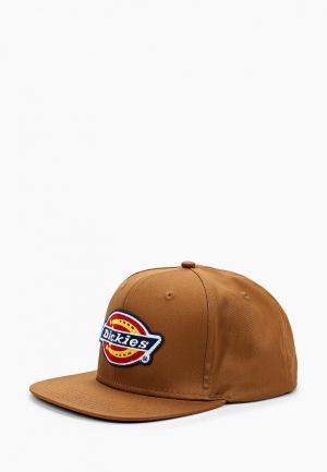 Бейсболка Dickies. Цвет: коричневый