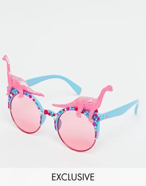 Spangled Солнцезащитные очки с эффектом деграде Disco
