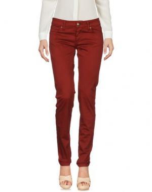 Повседневные брюки BASICON. Цвет: кирпично-красный