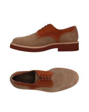 Обувь на шнурках SARTORE. Цвет: песочный