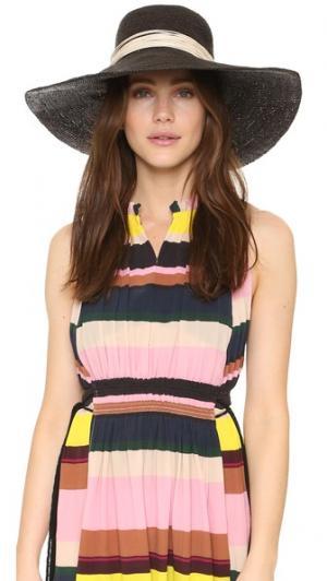 Ажурная шляпа Playa Artesano. Цвет: черный/кремовый