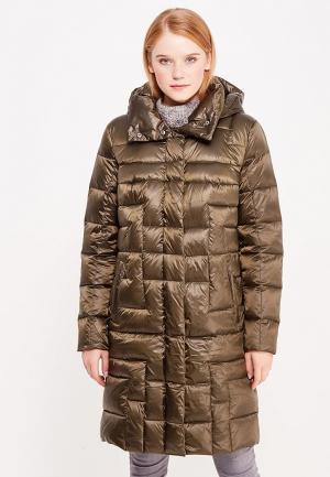 Куртка утепленная Finn Flare. Цвет: хаки