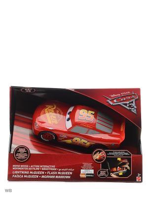 Мак Куин - движущаяся модель со световыми и звуковыми эффектами Mattel. Цвет: красный