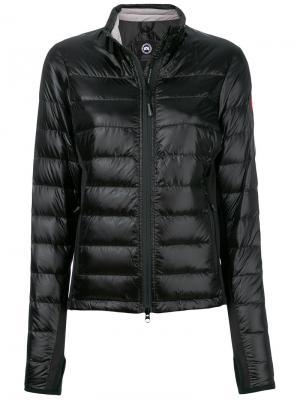 Легкая куртка-пуховик Canada Goose. Цвет: чёрный