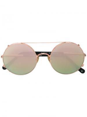 Солнцезащитные очки Valentine Sunday Somewhere. Цвет: чёрный