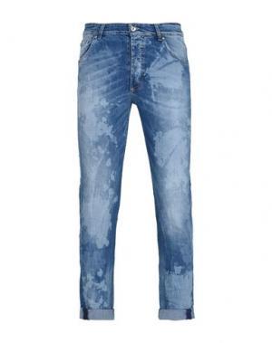 Джинсовые брюки PIERRE DARRÉ. Цвет: синий