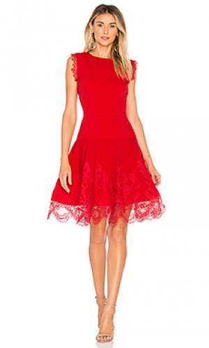 Платье antonia Bronx and Banco. Цвет: красный