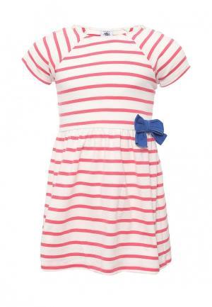 Платье Petit Bateau. Цвет: белый