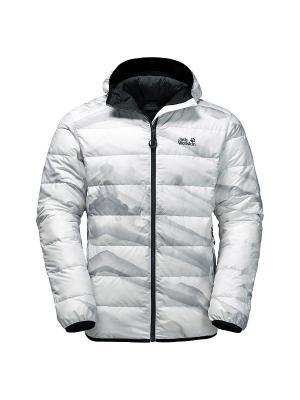 Куртка HELIUM ICE MEN Jack Wolfskin. Цвет: серебристый