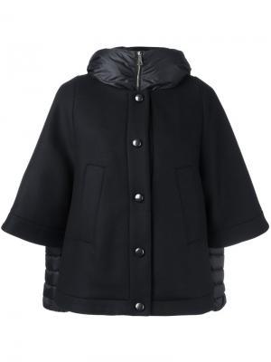 Куртка-пуховик Eudore Moncler. Цвет: чёрный